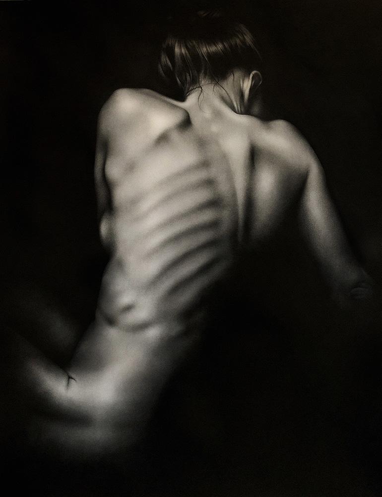Pieter van der Merwe - Twist - Female Nude Study